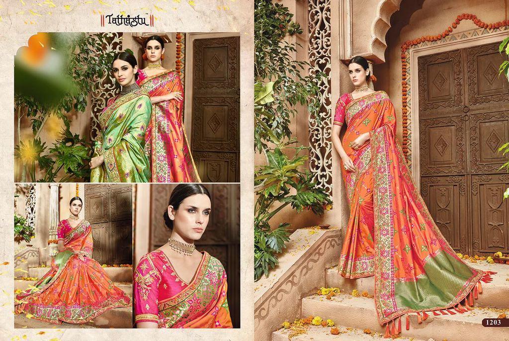 Heavy Designer Traditional Silk Sarees