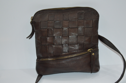 Brown Leather Messenger Bags