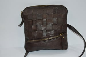 Brown Leather Sling Bags