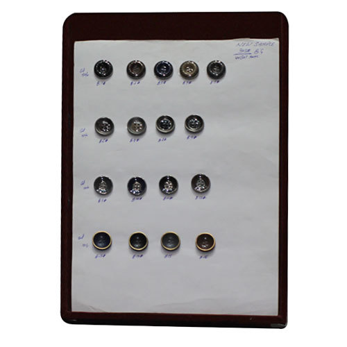 Coat Metallic Buttons