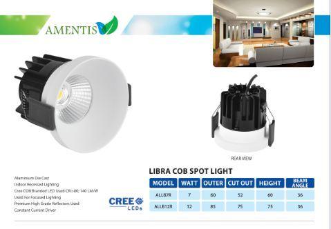 LIBRA RIMLESS COB SPOT LIGHT