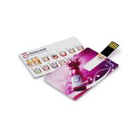 Business Card USB flash drive 8 GB USB 2.0 Memory Credit