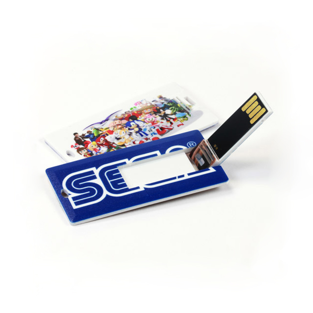 Credit Card USB Flash Drive with Customizing Logo