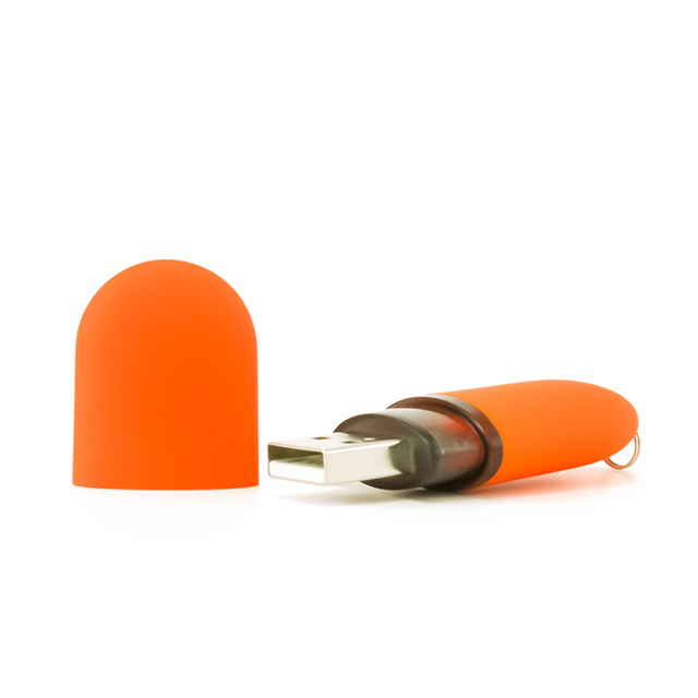 Capsule shaped USB pen drive