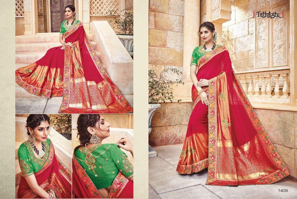 Latest Traditional Silk Sarees