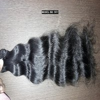 Virgin Natural Raw Human Hair Extension