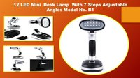 12 led mini desk lamp