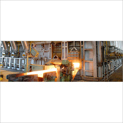 Re-Heating Furnace in Steel Rolling Mill Plant