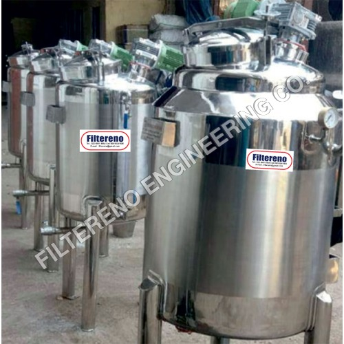 Pressure Storage Tank