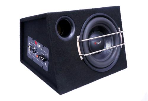 Enclosure Black Car Bass Tube