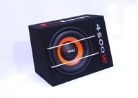 SQURE ORANGE BLACK CAR BASS TUBE