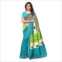 Mysore Silk Print Saree