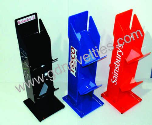 acrylic colorful Magazine stand