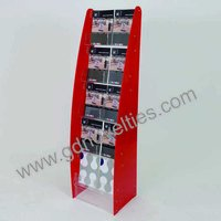 Acrylic multi pocket Brochure holder