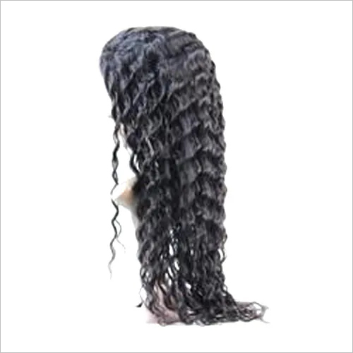 Black Deep Wave Lace Front Wig