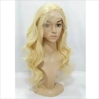 Wavy Blonde Lace Front Wig