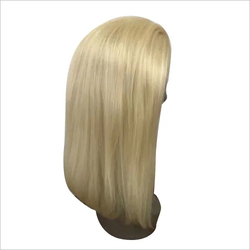 Straight Blonde Lace Front Wig