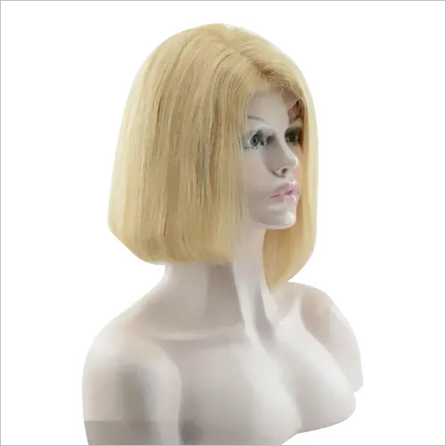 Human Hair Blonde Bob Wig