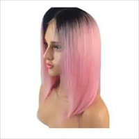 Pink Full Lace Wig