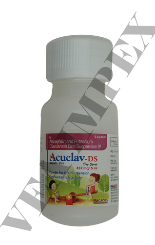 Acuclav DS 457 mgAmoxycillin and(Potassium Clavulanate Tablets)