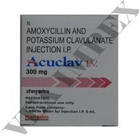 Acuclav I.V.300 mg(Amoxycillin and Potassium Clavulanate Tablets)