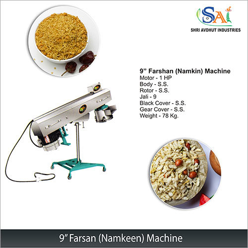 9 Farsan (Namkeen) Machine