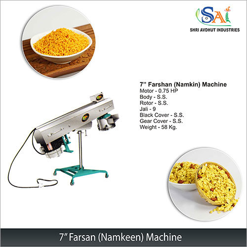 7 Farsan (Namkeen) Machine