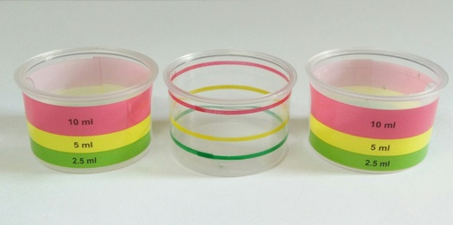 Colorful Hot Foil Measuring Cups