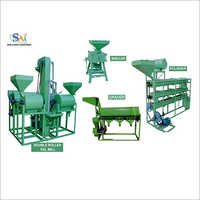Double Roller Dal Mill Plant
