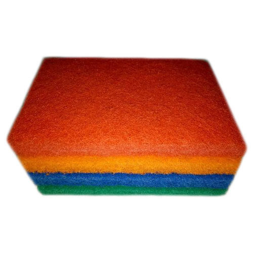 Tri Color Sponge Pad