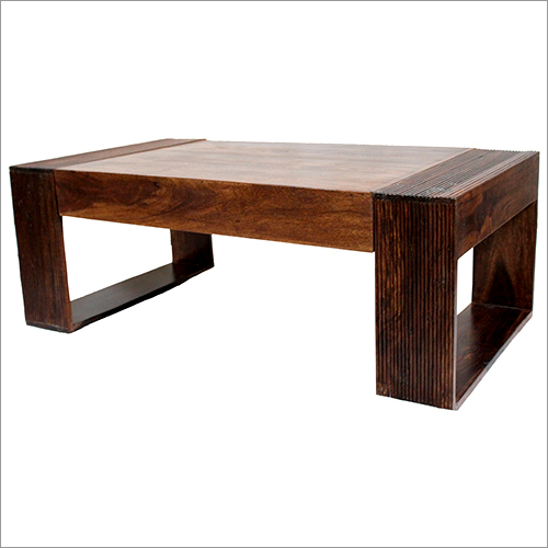 wood metal coffe table