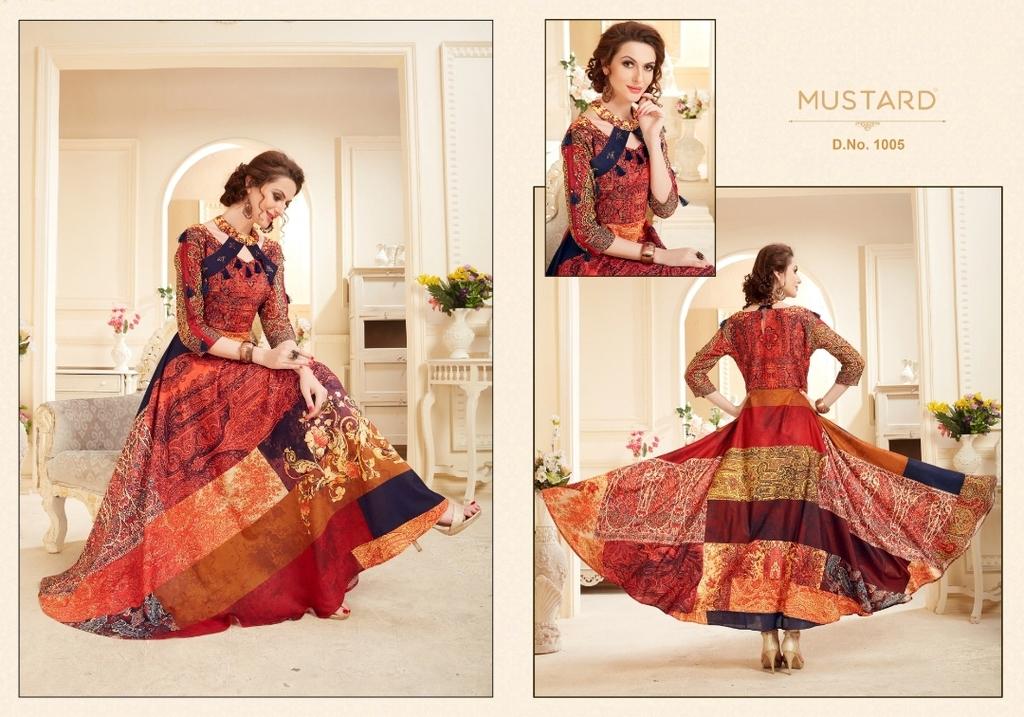 Gown Style Digital Print Kurtis