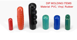 Dip Molded Bicycle Handle Grip