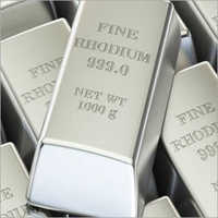 Rhodium Bars