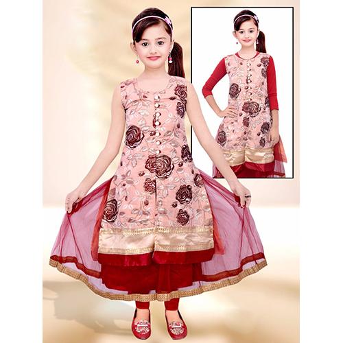 Girls Gown Suit - Girls Gown Suit Manufacturer & Supplier, Ludhiana ...