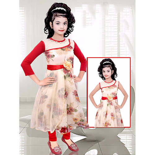Girls Designer Gown Suit
