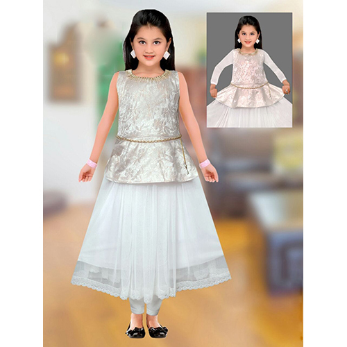 Kids Gown Suit