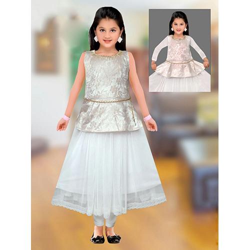 Kids Gown Suit