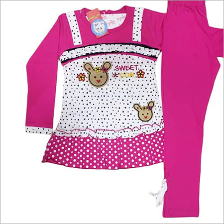 Girls Pajami Suit