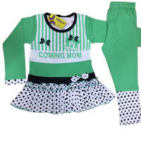 Girls Designer Pajami Suit