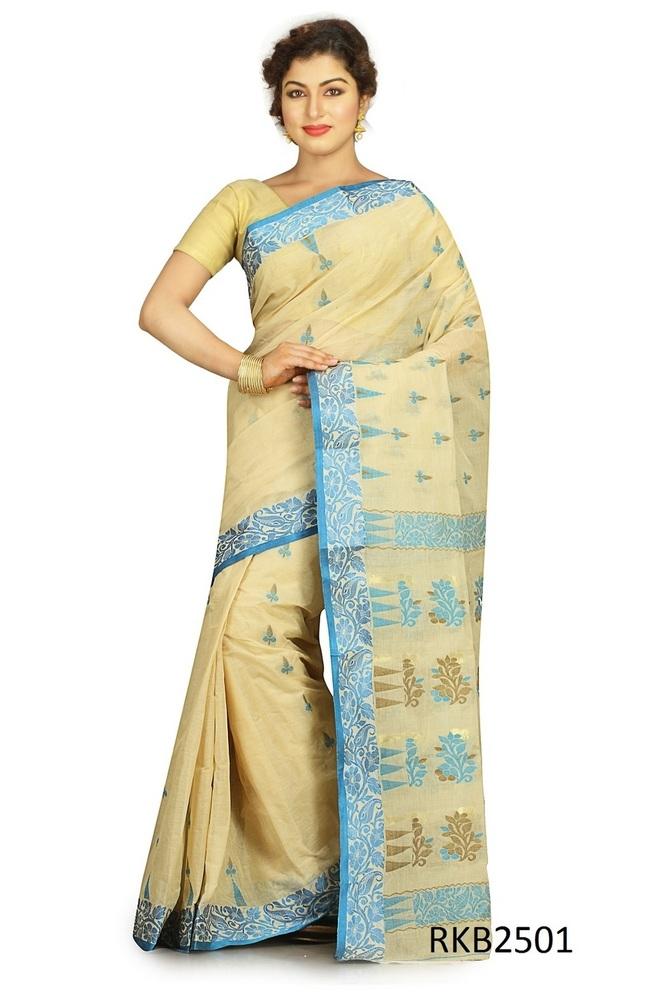 Cotton Dhakai Saree