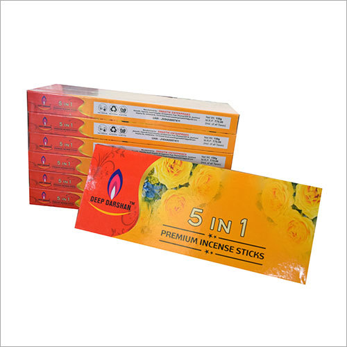 5 in 1 Premium Incense Sticks