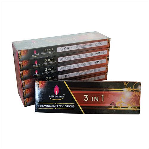3 in 1 Premium Incense Sticks