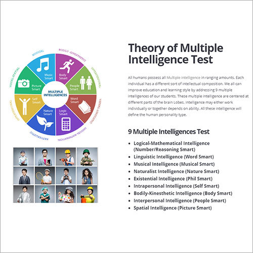 Theory Of Multiple Intelligence Test