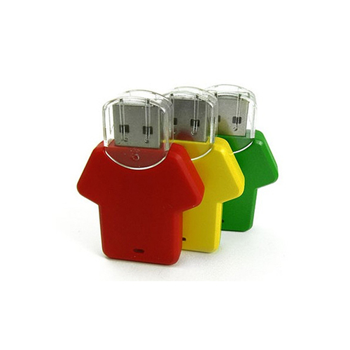 T-Shape Multi Colour Plastic USB