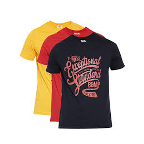 Men's Round Neck Printed T-Shirts