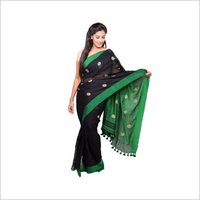 Ethnic linen saree