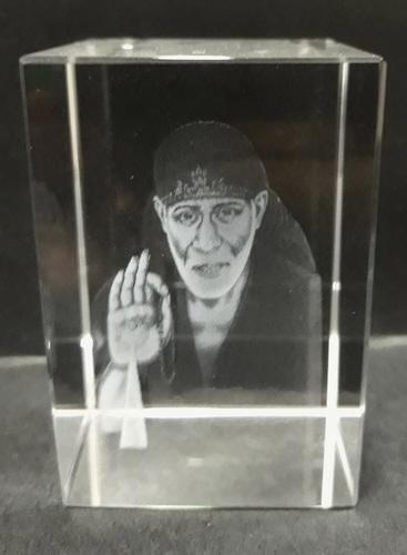 Sai Baba Crystal Gift