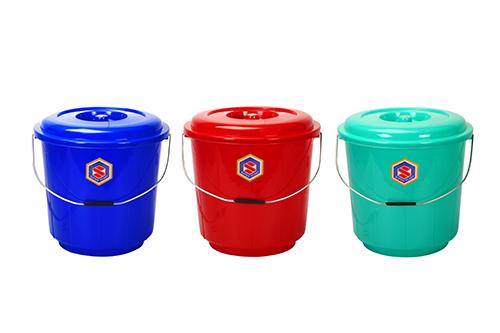 9 Ltrs Plastic Bucket