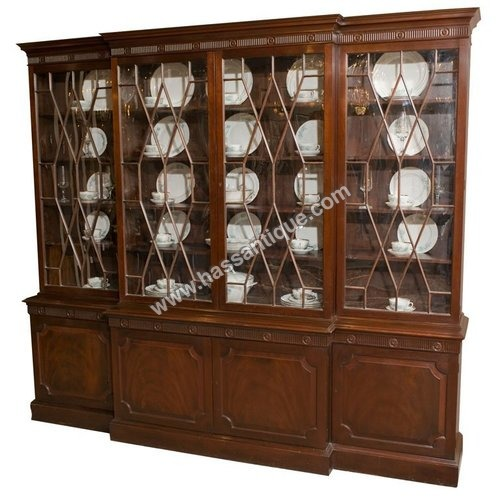 Teakwood Showcase Cabinet
